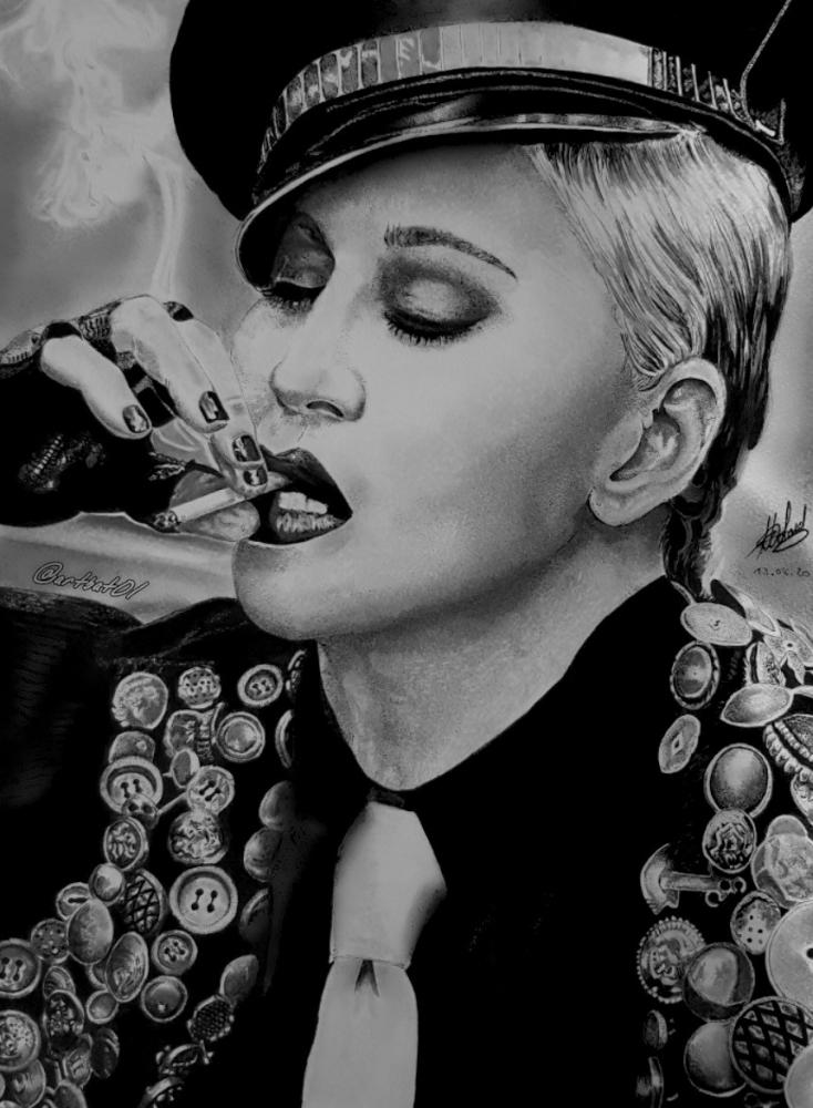 Madonna by art-bat